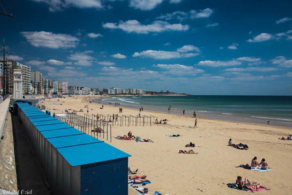 Les Sables d'Olonne : grande plage