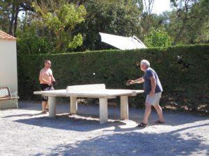 pret de raquette de ping-pong