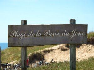 accès direct plage parée du jonc st jean de monts