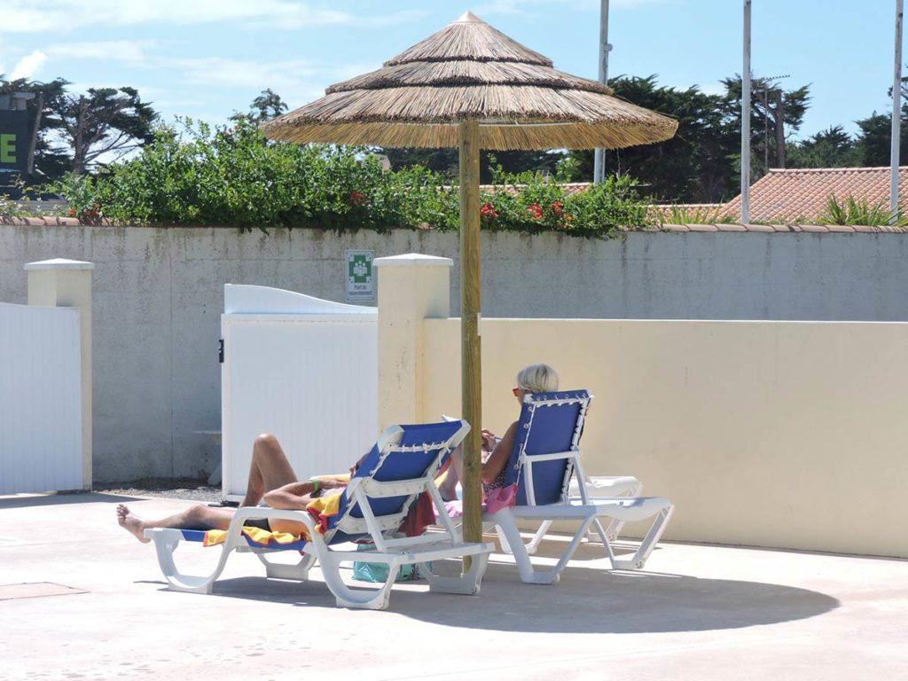 plage de la piscine