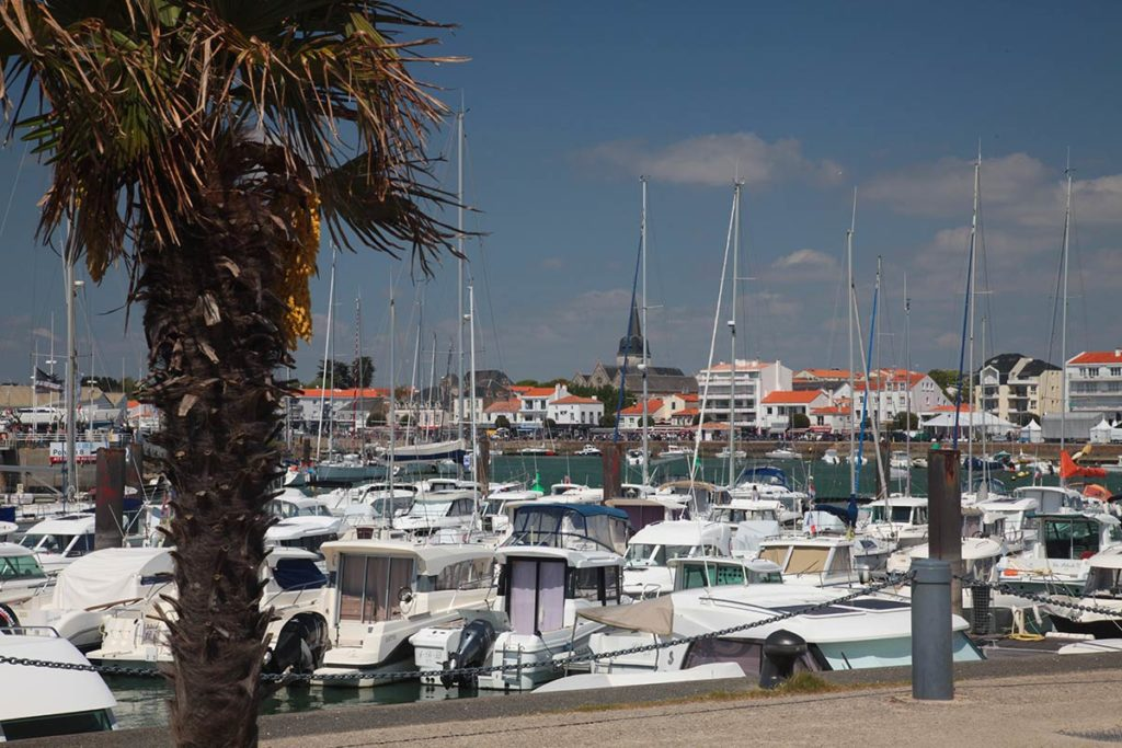 St Gilles Croix de Vie : port de plaisance