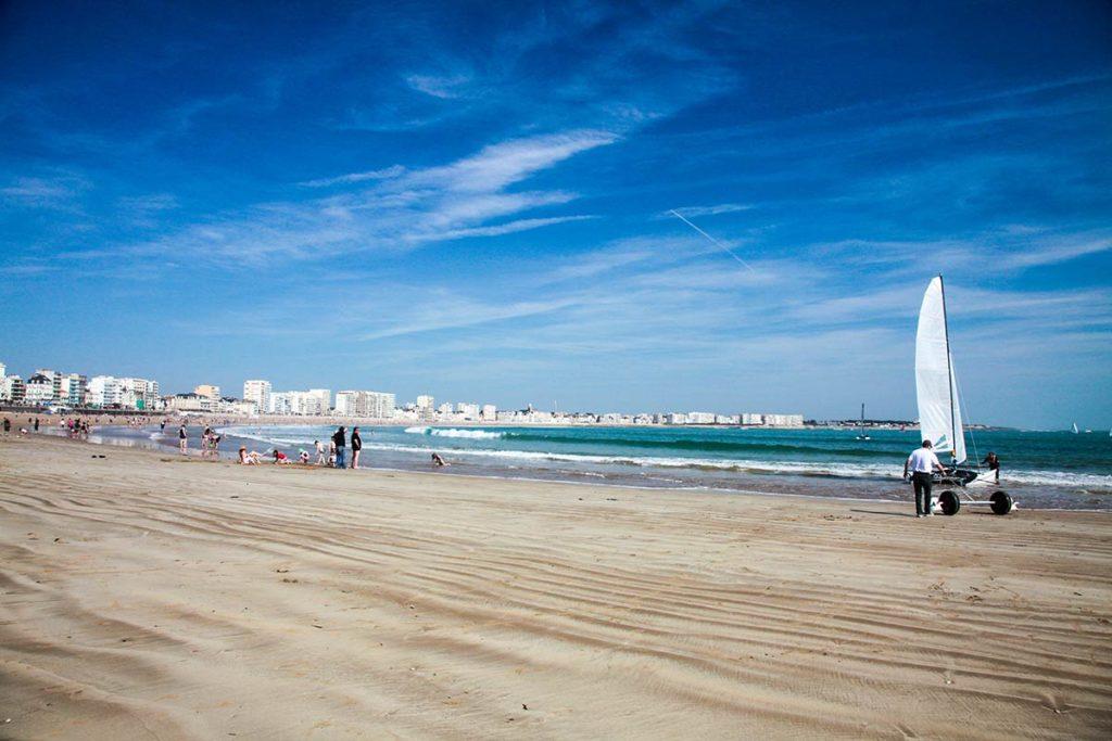 Les Sables d'Olonne la grande plage