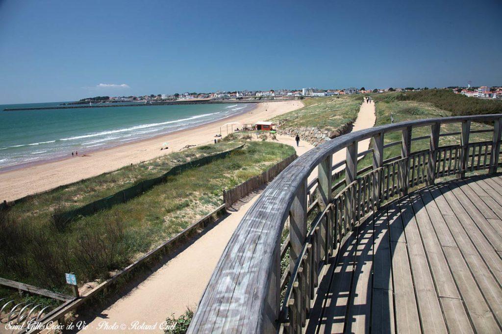 St Gilles Croix de Vie : grande plage