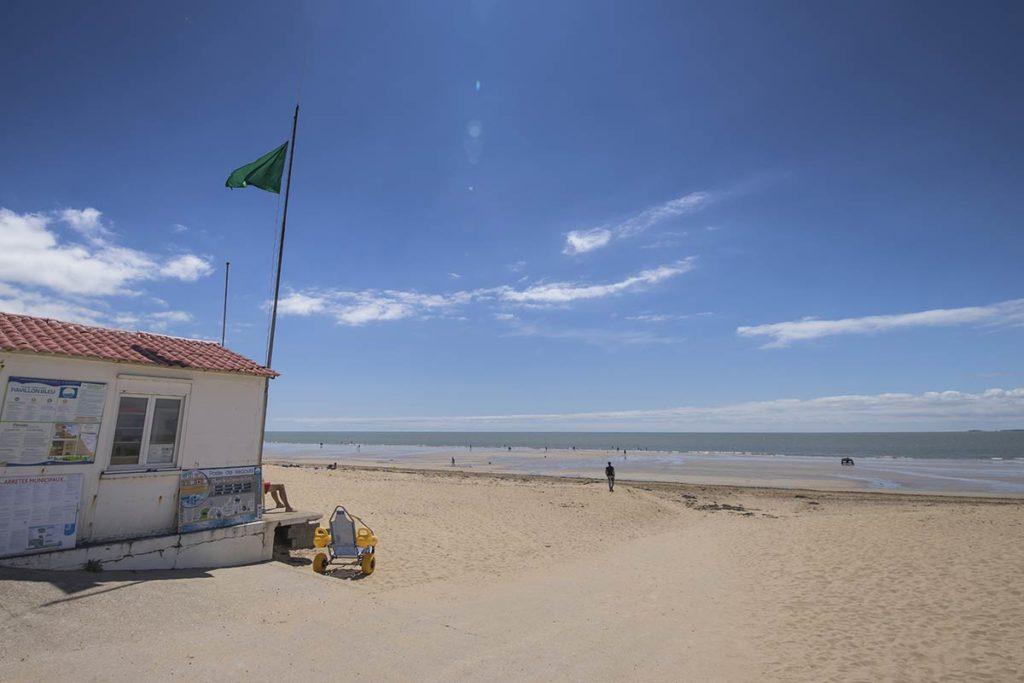 Les plages de St Jean de Monts